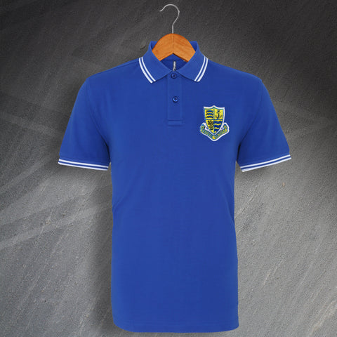 Southend Football Polo Shirt Embroidered Tipped 1982