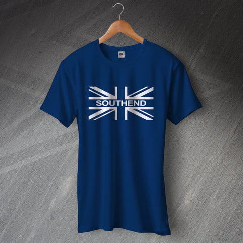 Southend Football T-Shirt Union Jack