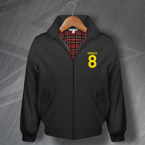 Spriggs 8 Football Harrington Jacket Embroidered
