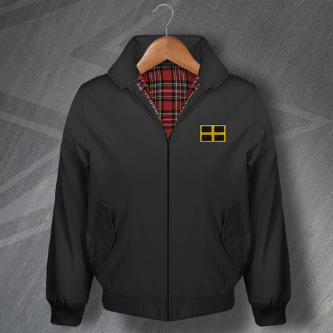 Flag of Saint David Embroidered Classic Harrington Jacket