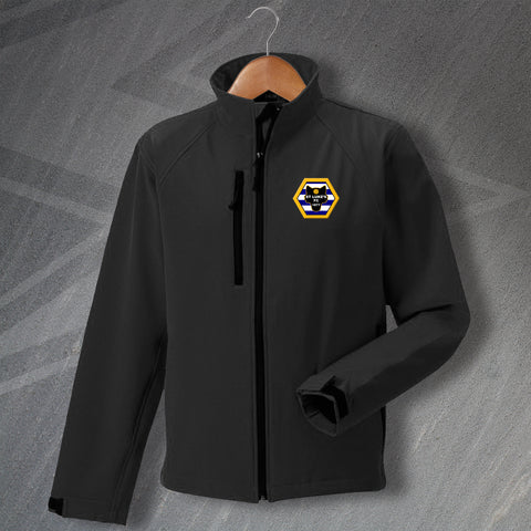 Wolves Jacket Embroidered Softshell St Luke's FC