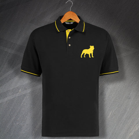Staffordshire Bull Terrier Polo Shirt