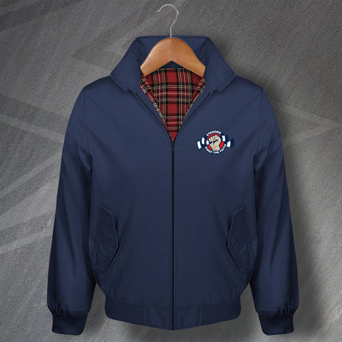 Ross County Football Harrington Jacket Staggies Keep The Faith