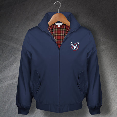 Ross County Football Harrington Jacket Embroidered The Pride of The Highlands