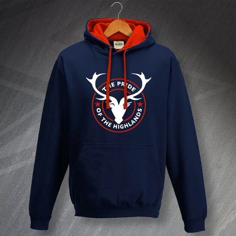 Ross County Football Hoodie Contrast The Pride of The Highlands