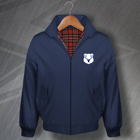 Ross County Football Harrington Jacket Embroidered 1953