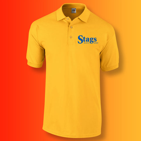 Stags Polo Shirt with Believe & Achieve Design