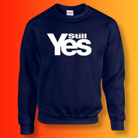 Scotland Still Yes Unisex Sweater