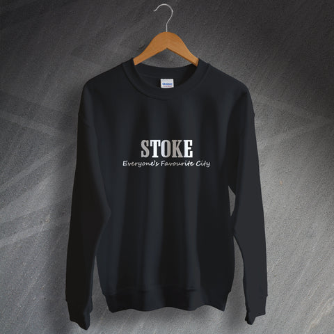 Stoke Sweatshirt Everyone's Favourite City