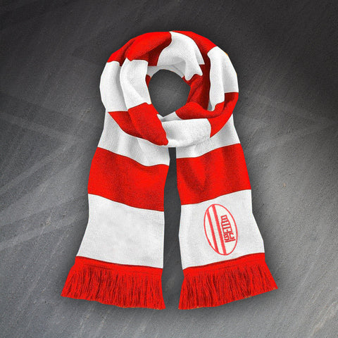 Stoke Football Bar Scarf Embroidered 1968