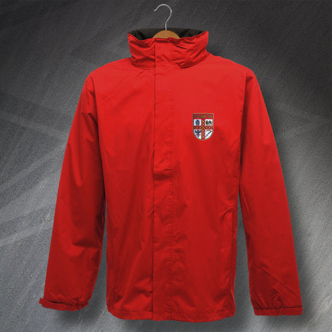 Stoke Football Jacket Embroidered Waterproof 1953