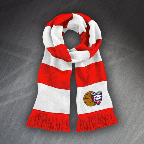 Stoke Football Bar Scarf Embroidered Stoke Ramblers