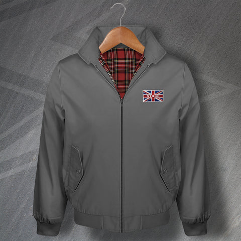 Stoke Football Flag Harrington Jacket