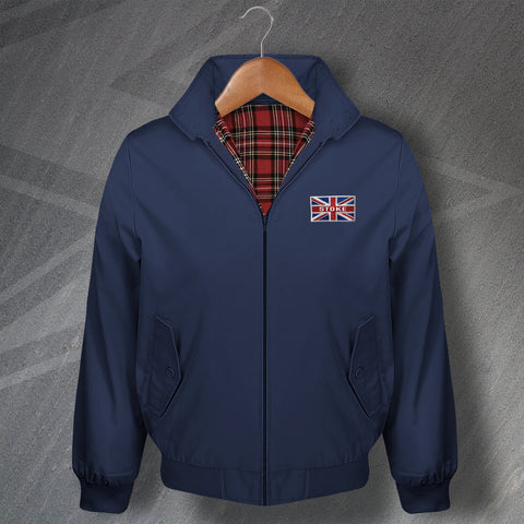 Stoke Harrington Jacket Embroidered Union Jack