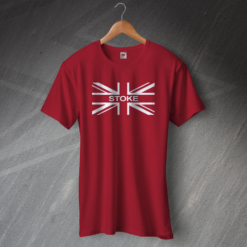 Stoke Football Flag T-Shirt