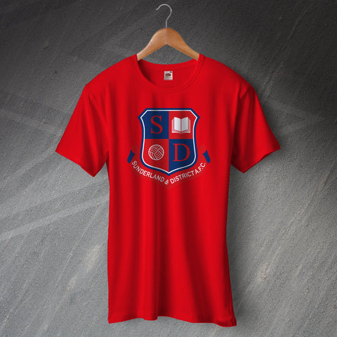 Sunderland Football T-Shirt Sunderland and District Teachers AFC