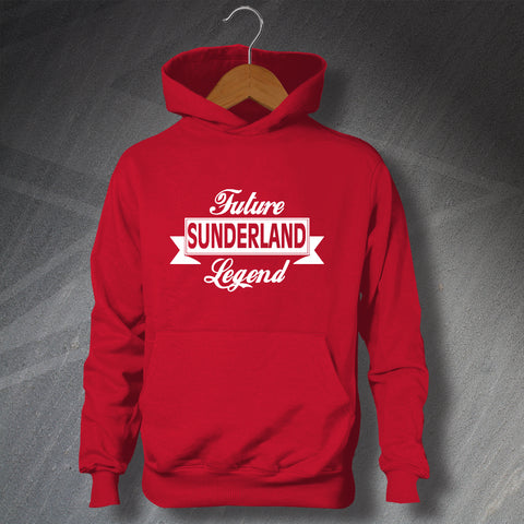 Sunderland Football Hoodie Children's Future Sunderland Legend
