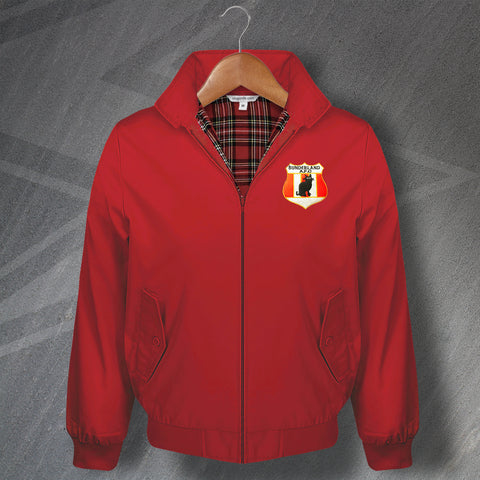 Sunderland Football Harrington Jacket Embroidered 1898