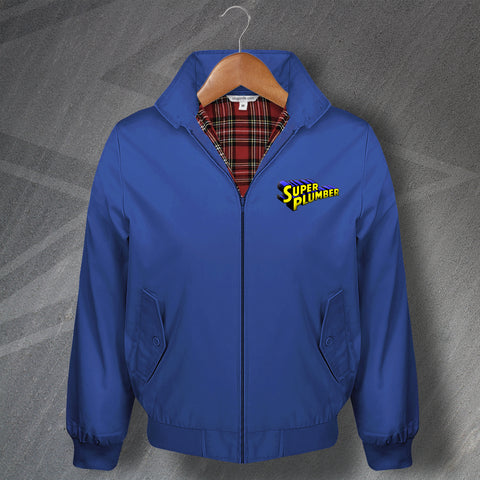 Plumber Harrington Jacket Embroidered Super Plumber