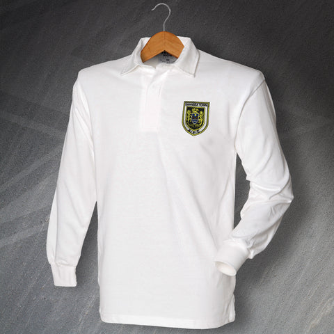 Swansea Football Shirt Embroidered Long Sleeve 1922