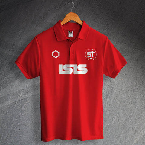 Swindon Football Polo Shirt Printed 1983