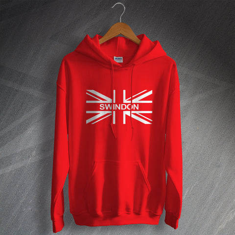 Swindon Football Hoodie Union Jack