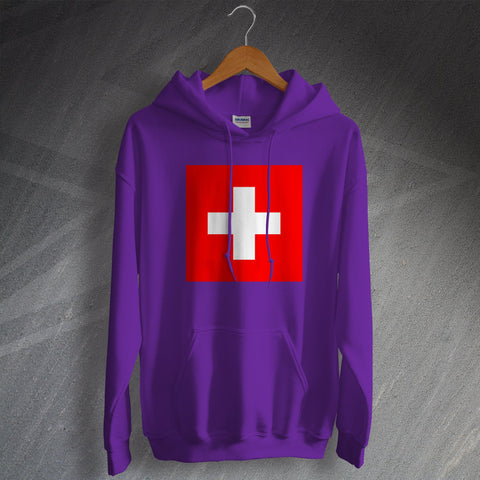 Switzerland Hoodie Flag of Switzerland