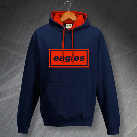 Palace Football Hoodie Contrast Eagles