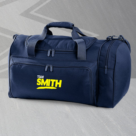 Team Smith Embroidered Universal Holdall