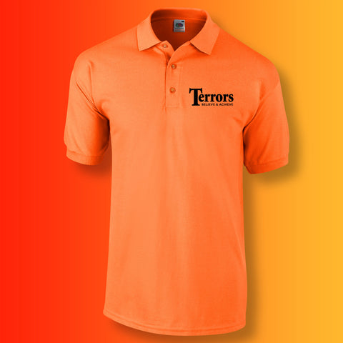Terrors Polo Shirt with Believe & Achieve Design
