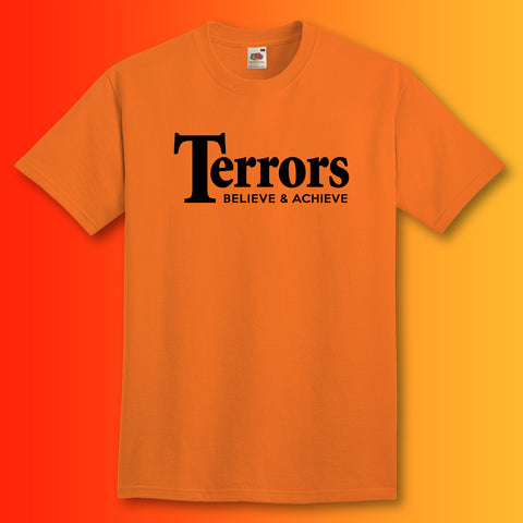 Terrors Shirt with Believe & Achieve Design