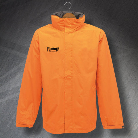 Terrors It's a Way of Life Embroidered Waterproof Jacket