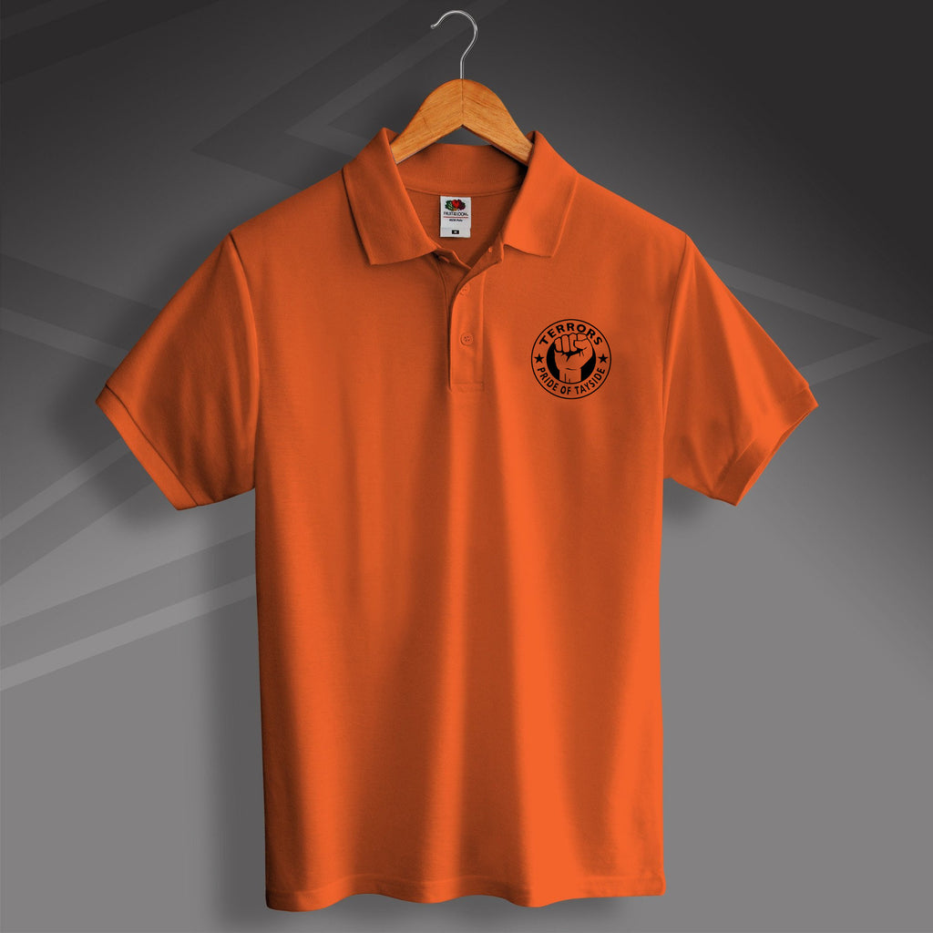 Terrors Pride of Tayside Design Polo Shirt