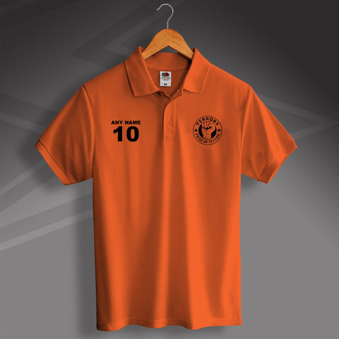 Terrors Pride of Tayside Printed Polo Shirt Personalised with any Number & Name