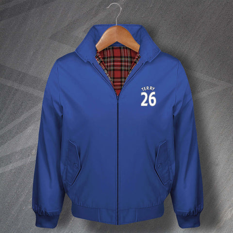 Terry 26 Football Harrington Jacket Embroidered