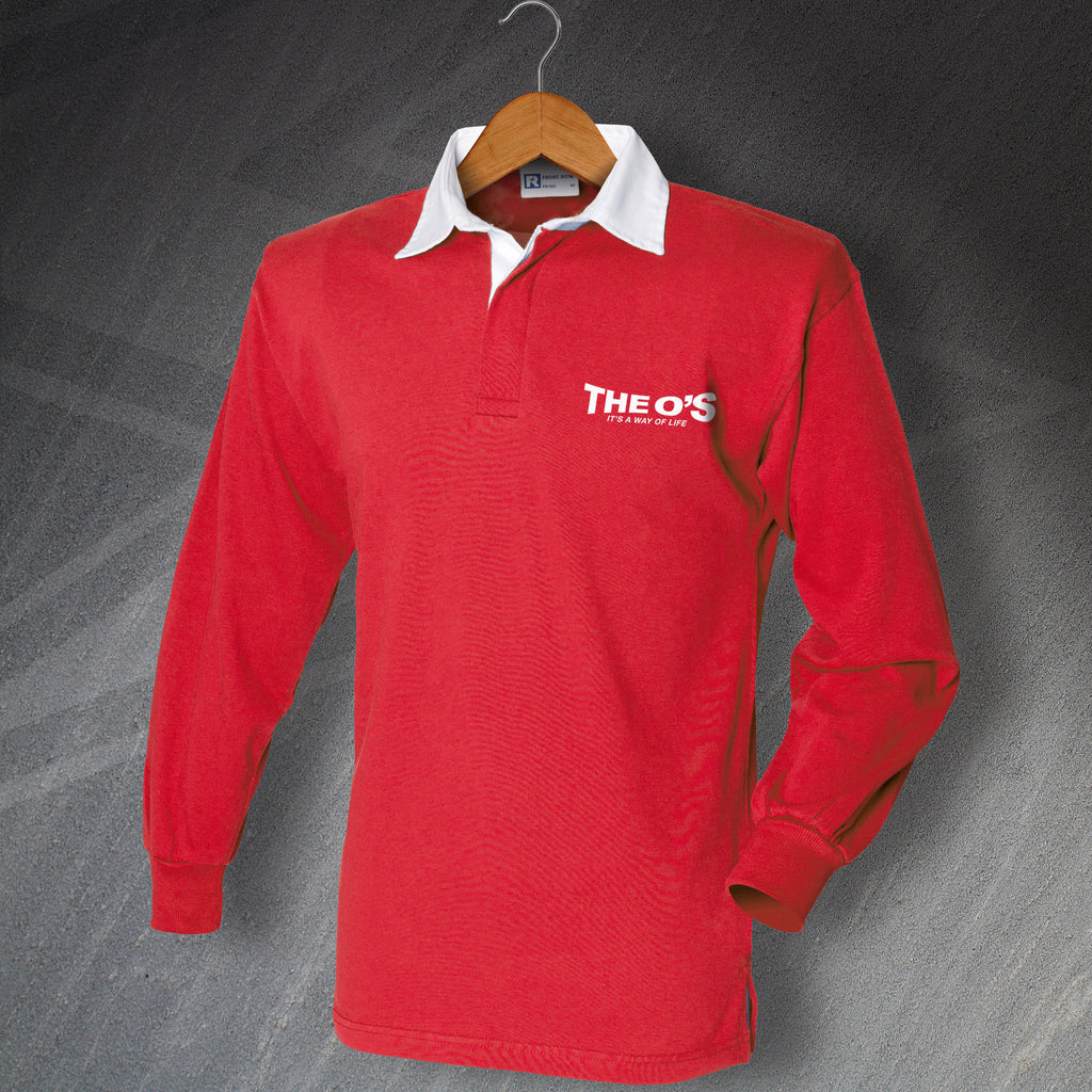 Orient Long Sleeve Football Shirt