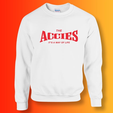Accies Sweatshirt with It's a Way of Life Design