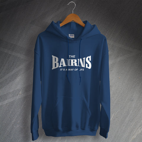 Falkirk Football Hoodie The Bairns It's a Way of Life