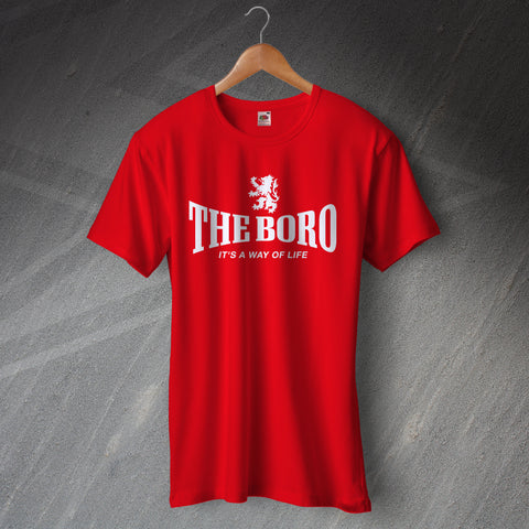 Middlesbrough Football T-Shirt The Boro It's a Way of Life