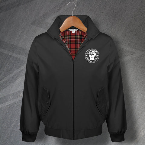 St Mirren Football Harrington Jacket Embroidered The Buddies Pride of Paisley