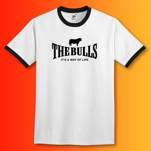 The Bulls Ringer Shirt with It's a Way of Life Design