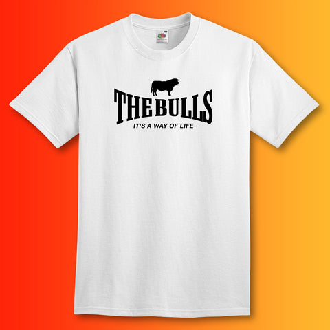 The Bulls Shirt with It's a Way of Life Design