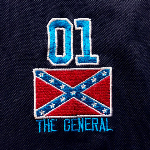 The General 01 Embroidered Badge