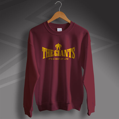 The Giants Rugby Sweatshirt It's a Way of Life