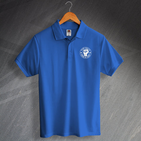 Gillingham Football Polo Shirt Embroidered The Gills Pride of Kent
