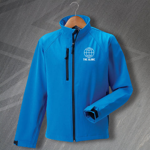 The Globe Pub Jacket Embroidered Softshell