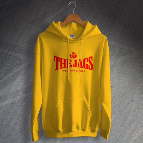Partick Football Hoodie The Jags It's a Way of Life Design