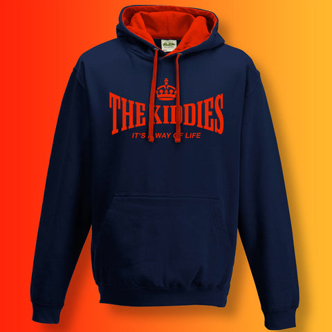 Kiddies Contrast Hoodie with It's a Way of Life Design