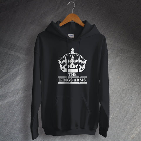 The Kings Arms Pub Hoodie Crown