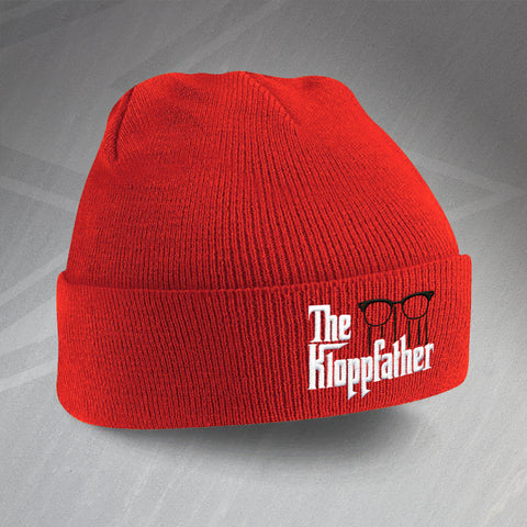 Liverpool Football Beanie Hat Embroidered The Kloppfather